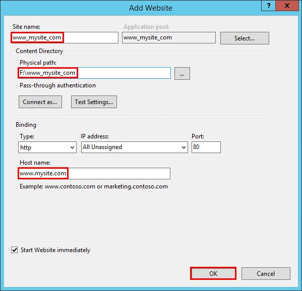 Publishing to IIS — ASP NET documentation