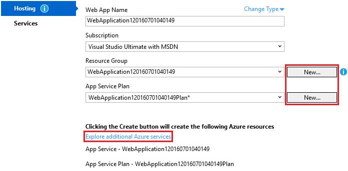 Deploy an ASP NET Core web app to Azure using Visual Studio — ASP