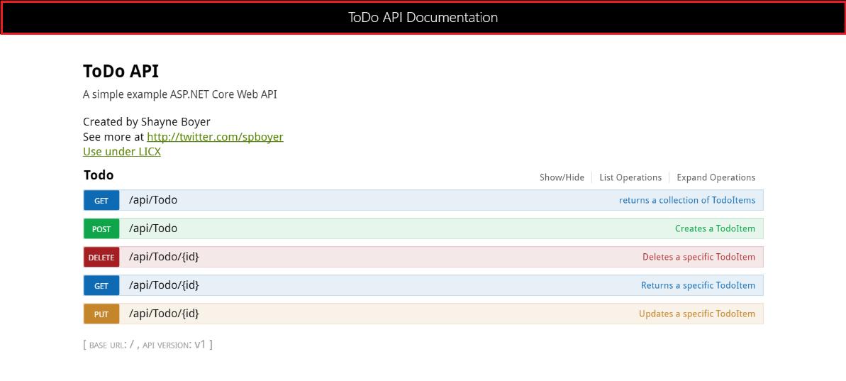 ASP NET Web API Help Pages using Swagger — ASP NET documentation